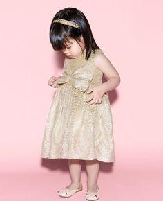 Baby Girl's Glamour Dress - Bardot Junior