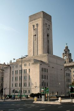 Mersey Tunnel ventilation tower Liverpool by Tom..., via Flickr