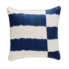 Stripe Ikat Pillow