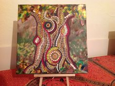 Mosaics, Boxes, Paper, Cards, Painting, Crates, Painting Art, Box, Paintings