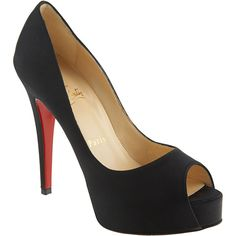 a70533d647e3 Lauren Conrad wearing Christian Louboutin Very Prive Satin Pump