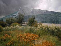 Albuquerque Botanical Gardens, Albuquerque, NM.  A newly designed conservatory building!