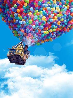 Disney Up Up! Iphone Wallpaper Pink, Wallpaper World, Home Wallpaper, Wallpaper Backgrounds, Disney Up, Disney Pixar, Iphone 6, Best Iphone, Movie Wallpapers