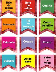 Resultado de imagem para bandeirinhas festa junina