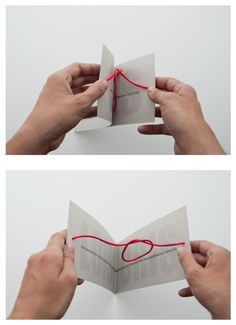 """A very creative wedding invitation: """"Tie the knot"""" by Christina Moralego. via andreirobu This would be great for an engagement party invite Cute Wedding Ideas, Diy Wedding, Dream Wedding, Wedding Day, Wedding Inspiration, Wedding Stuff, Wedding Wishes, Perfect Wedding, Design Inspiration"""