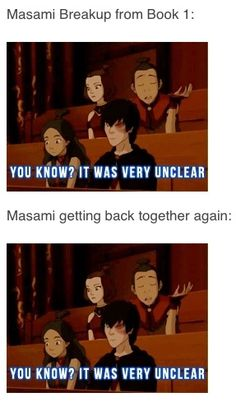 The Legend of Korra/ Avatar the Last Airbender. (No one should be in a relationship on this show (unless it was pre-established).)