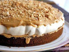 Snickers dort recept | iRecept.cz