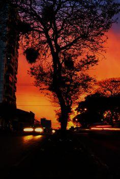 Pôr-do-sol #fotografia