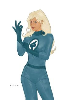 Sue Storm, The Invisible Woman, by Dave Seguin.