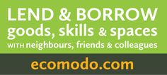 Lend and borrow goods, skills and space with your neighbours, friends and colleagues. ecomodo.com