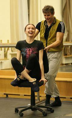 Svetlana Zakharova! Hahaha!