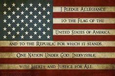 I pledge allegiance to the Flag of the United States of America, and to the republic for which it stands, one Nation under God, indivisible, with liberty and justice for all. This Is A Book, The Book, I Pledge Allegiance, And Justice For All, States In America, United States, Let Freedom Ring, My Pool, Relief Society