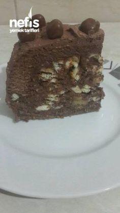 Fırınsız Halleyli Pasta (15 Dakikada)