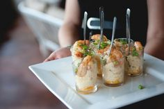 shrimp & grits shots (we'll be doing these)
