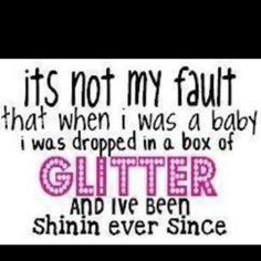 I do like sparkly things!