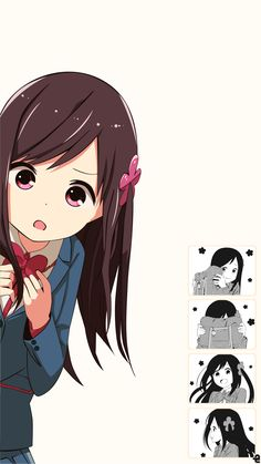 Anime, Hitoribocchi no â—‹â—‹ Seikatsu Mobile Wallpaper Anime Girl Neko, Cool Anime Girl, Pretty Anime Girl, Chica Anime Manga, Cute Anime Pics, Anime Art Girl, Anime Chibi, Otaku Anime, Anime Love