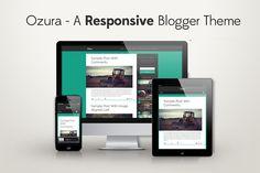 Ozura Responsive Blogger Template