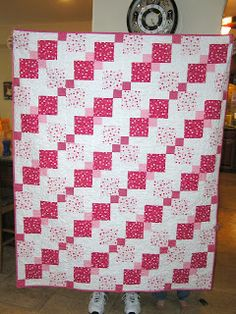 The Fleming's Nine: Valentine's Quilt