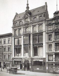 Hermann Rückwardt, Restaurant Dreher Leipziger Straße 109, 1889.