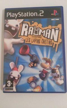 Rayman contre les Lapins Crétins pour PS2 (TBE)