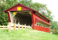 covered bridges of ohio | File:Spain Covered Bridge Union County Ohio.JPG - Wikipedia, the free ...