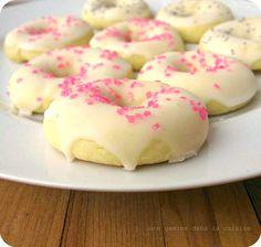Lemon Doughnut Cookies !!