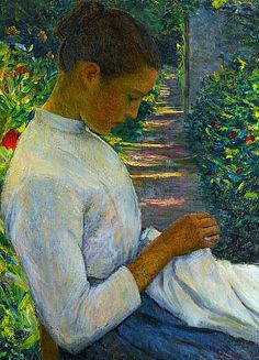 Lilla Cabot Perry Eugenie in the Garden Early 20th century