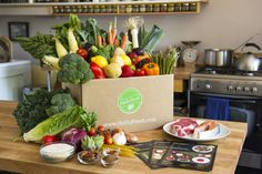 Another great way to get the product to the people is via food delivery boxes that are mostly ordered by people with busy lifestyles who have enough disposable income to spend on quality products