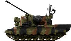 Flakpanzer Gepard 1A2, Flakpanzer Gepard or Flugabwehrkanonenpanzer Gepard SPAAG (1969)
