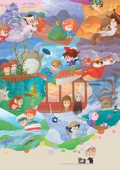 Orioto - Miyazaki Fresco