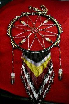Dream Catcher Jewelry, Dream Catcher Art, Feather Dream Catcher, Native Beadwork, Native American Beadwork, Dreamcatcher Story, Dreamcatchers, Native American Crafts, Native American Indians