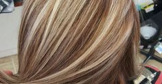 Blonde highlights with brown base www.cloudninehairsalon.com   Hair   Pinterest   Blonde Highlights, Highlights and Blondes