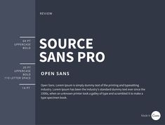 Both Source Sans Pro and Open Sans are typefaces intended to work well in user interfaces. Online newsletters and reports need clean, easy-to-read combinations that clearly define heading, subheading and body copy so readers can scan and identify what they want to read.