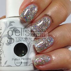 Gelish Kick Off the New Year swatch by Chickettes.com