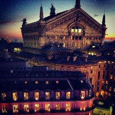 View from galeries lafayette. Wonderwall, Cathedral, Mansions, House Styles, Building, Travel, Viajes, Manor Houses, Villas