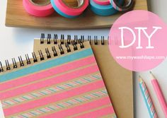 My Washi Tape: DIY | BLOCK NOTES