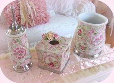 Romancing The Rose Studio, Shabby chic, mosaic pink, , rose     www.RomancingTheRoseStudio.com ©Website Design by: OneSpringStreet.NET 2011