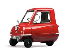 Microcar Peel P50 - 1964 You sweet little cherry-car!