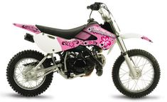 pink dirt bike, so I can ride with my boys!
