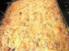 Bisquick Apple Pie Dessert Quick Apple Dessert, Healthy Apple Desserts, Just Desserts, Delicious Desserts, Yummy Food, Tasty, Apple Deserts, Fall Desserts, Jiffy Mix Recipes
