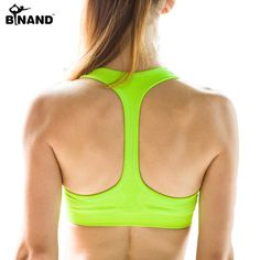701af4878fc Padded Sports Bra Push Up Wireless - 6 Colors