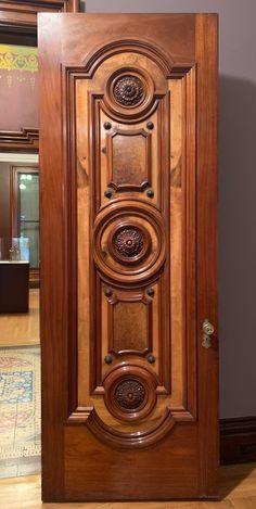 Home Door Design, Wood Bed Design, Wooden Main Door Design, Modern House Design, Sacramento California, Wooden Doors, Glass Design, Glass Door, Art Museum