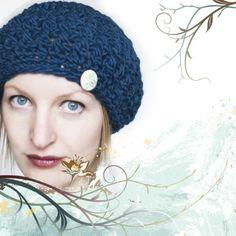 PATTERN knittles Slouchy Crochet Beret / Hat Pattern by knittles, $5.00