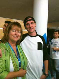 Kameron George founder of Project AWOL and I in a photo opp... Our SEASON 1 for the Reality show was premiered in Denver.