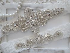 Hochzeit Strumpfband Set Bridal Strumpfband Set von OneFancyDay