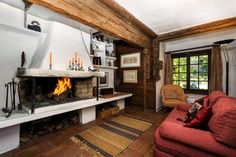 cosy fireplaces for winter chills...this could be yours this winter #rentme #nidski #mynidski #winter #mountains #chamonix #ski