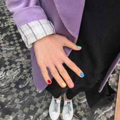 🌻 p i n t e r e s t: 🐦 - Nageldesign - Nail Art - Nagellack - Nail Polish - Nailart - Nails - Love Nails, How To Do Nails, Pretty Nails, Fun Nails, Manicure Y Pedicure, Mani Pedi, Plain Nails, Almond Nails, Stiletto Nails