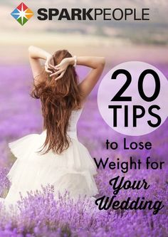 Be a svelte bride with these diet and fitness tips to lose weight in time for your wedding day!