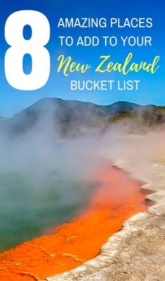 Must See Places In New Zealand South Island Beautiful - 10 geological hotspots to visit in new zealand