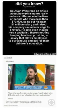 Good guy Dan faith in humanity restored (much needed) The More You Know, Good To Know, Inspirer Les Gens, Gives Me Hope, Faith In Humanity Restored, My Tumblr, No Me Importa, Cool Stuff, Social Justice